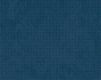 1 Yard fabric - INVENTORY SALE- Wilmington fabric by the yard- color- Blue
