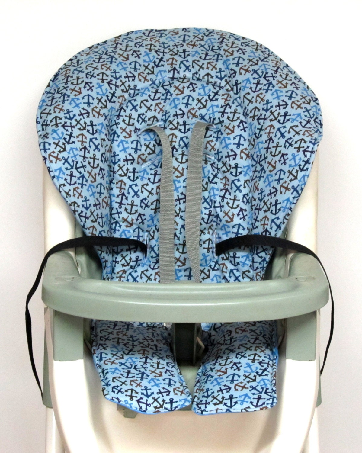 nautical high chair cover graco baby accessory replacement. Black Bedroom Furniture Sets. Home Design Ideas