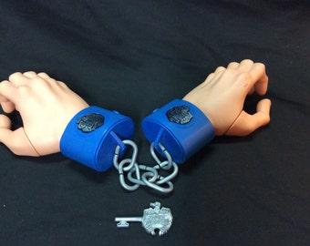 "Police Academy ""Hand cuffs"" with key - 1989"