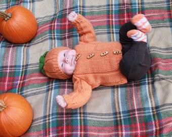 Pumpkin Sweater Set