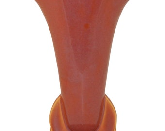 Roseville Pottery Rozane Patterns Caramel Vase 6-9