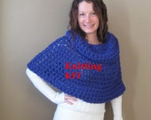 Ready to ship Crochet KIT - DIY Erin Capelet - everything you need - pattern - yarn - hook