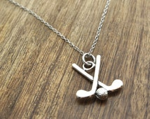 Golf Necklace Golf Jewelry Golfing Necklace Golfing Jewelry Golf Club Necklace For Golfer For Her For Wife For Girlfriend Valentines Day