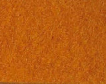 100% Wool Felt 20cm x 30cm 1.5mm thick - 610 Dark Mustard Yellow