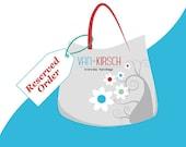 Custom Order - Dani mini, shoulder and crossbody bag.