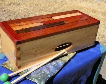 Multi Wood Tongue Drum