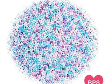 Frozen Nonpareils Sprinkles, Frozen Party Sprinkles, Tiny Sprinkles, Pastel Nonpareil Sprinkles, Pastel Sprinkles, Cupcake Sprinkles