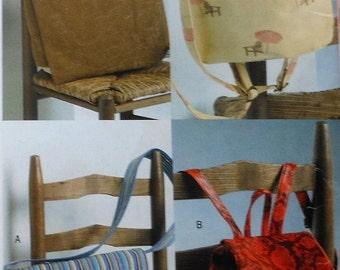 Utility Bags Sewing Pattern UNCUT See & Sew  B4583 bag backpack