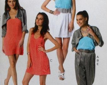Chic Wardrobe Sewing Pattern UNCUT McCalls M6333 Sizes 14-22 dress jacket pants skirt