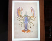 Maine Lobster (11x17)