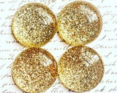 Glass Magnets - Magnets - Office Supplies - Decorative Magnets - Gold Magnets - With Gold - Office Accessories - Fridge Magnets - Gold