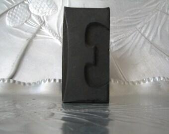 VINTAGE LETTERPRESS - Large - LETTER E - Letterpress - Printing - Crafting - Repurpose - Industrial Use -