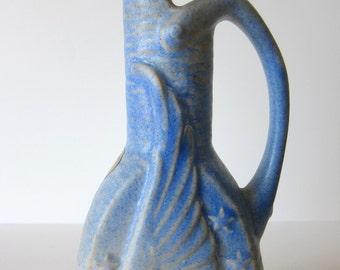 vintage NILOAK art pottery deco eagle ewer