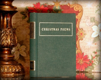 Hollow Book Safe (Christmas Poems)