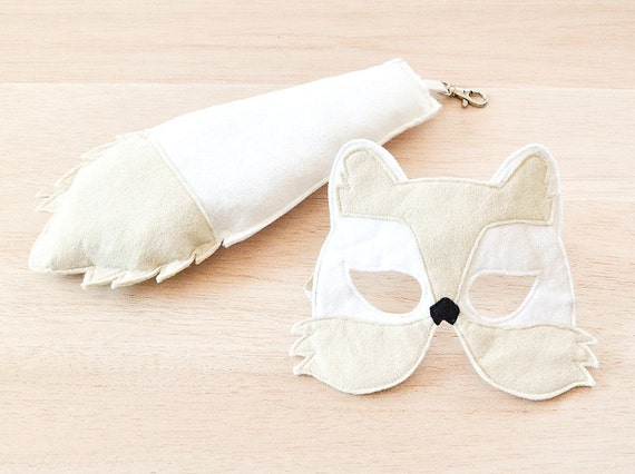 how to make a fox mask and tail