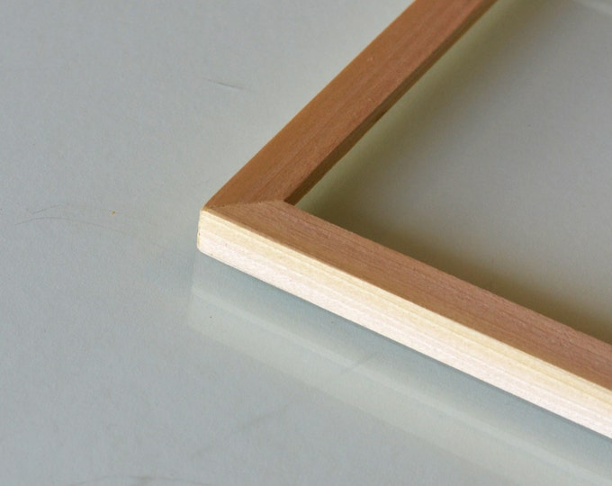basic picture frame natural poplar solid hardwood gallery wall frames choose large size