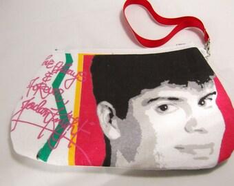 New Kids on the Block Wristlet / Pouch -- Handmade NKOTB....   Jordan