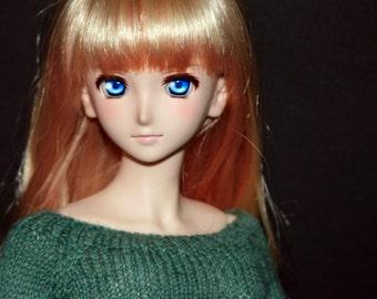 SD Dollfie/Dollfie Dream/Smartdoll Green Scoopneck sweaters