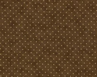 Moda Essential Dots Chocolate Brown 8654 45