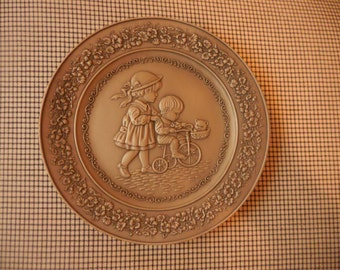 1983 Little Gallery Collectible Pewter Plate