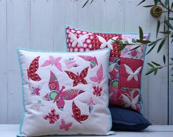 Sweet Mariposa Cushion Pattern
