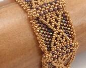 Beading Tutorial for Thorbardin Bracelet, jewelry pattern, beadweaving tutorials, instant download, PDF