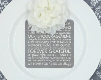 Printable Reception Thank You Card | Wedding Thank You Card | Thank You Card | Thank You Printable - Style TY43 - TEAGAN COLLECTION