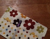 Spring sale sale sale Crayon Roll up flowers on cream