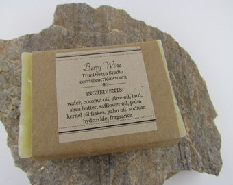Berry Wine Handmade Soap