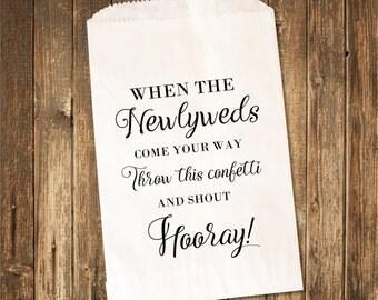Wedding Confetti Bags-Toss Me Confetti Bags