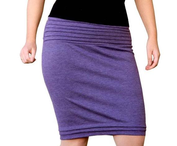 Pencil Skirt, Plus Size Pencil Skirt, Elegant Pleated Pencil Skirt, Plus Size Custom Skirt, Plus Size Clothing