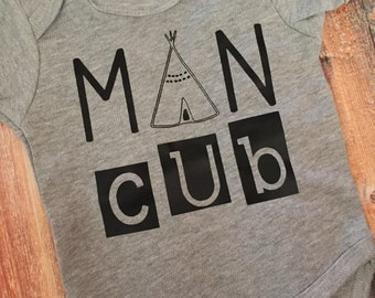 Man Cub Shirt or Onesie