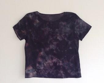 Dark Geode Tie Dye T-shirt M/L