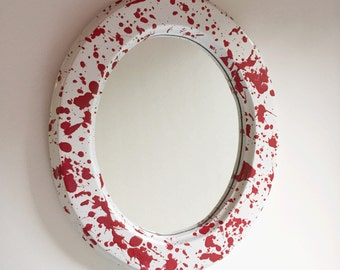 Blood Spatter Mirror