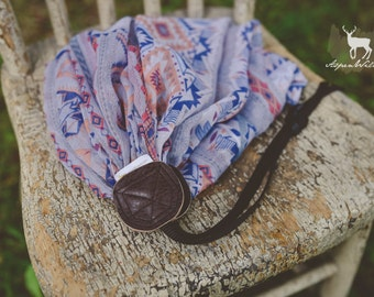 Clearance - Aztec Print Camera Strap
