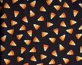 Candy Corn fabric - Seen on Halloween fabric - Maywood Studios - OOP HTF