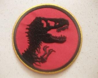 "Jurassic Park Patch Badge 7x7 cm 2.75"""