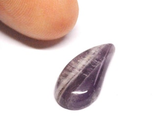 Natural Amethyst Freeform Cabochon - 15.8 x 8.2 x 3.3 mm - 3.2 ct - 151019-36