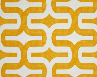 CLEARANCE SALE 1 yard Premier prints embrace corn yellow geometric home deco fabric