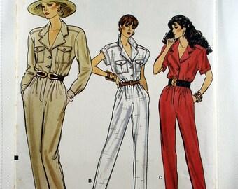 Vogue 9923, Misses'/Misses' Petite Jumpsuit Sewing Pattern, Misses' Patterns, Sewing Pattern, Vintage Vogue, Misses' Size 6, 8, 10, Uncut