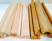 Scrabble Wooden Tile Holders Lot of 12