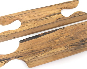 Spalted Birch Puzzle Piece Cutting Serving Board - Sustainable Harvest -  OOAK - Timber Green Woods