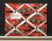 11 x 14 WWE - World Heavyweight Champion Memory Board