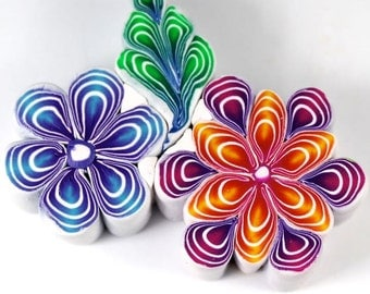 Polymer Clay Quilled Canes Tutorial