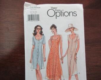 vintage Vogue Easy Options uncut Pattern 9422 - wrap skirt, size 12, 14, 16