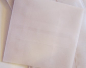 25 vellum envelopes - 3.5 x 3.5 inches - gummed flap