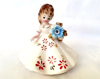 Josef Original Ceramic figurine April Diamond Birthstone