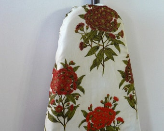 Ironing Board Cover - Australian wattle wildflower red