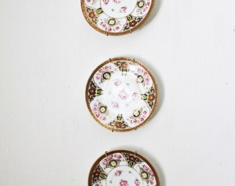 Vintage Nippon Saucers