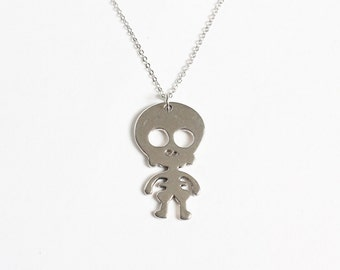 Cute Skeleton Baby Necklace